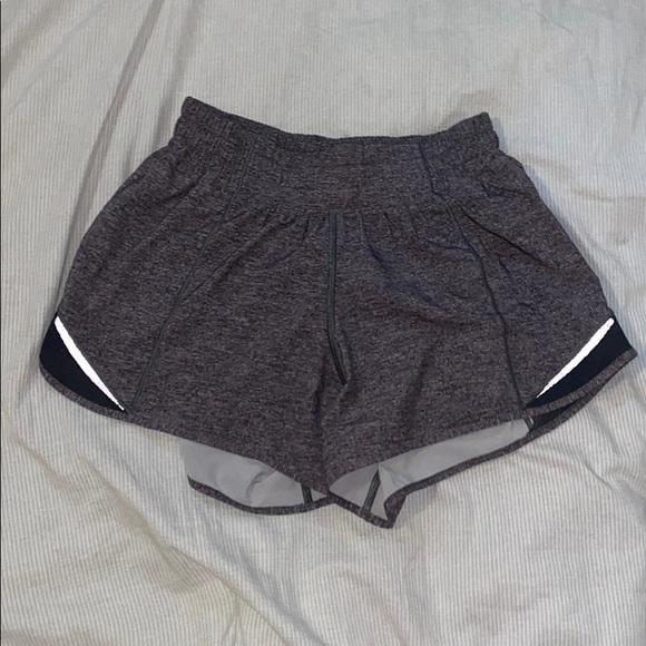 lulu lemon, hotty hot shorts
